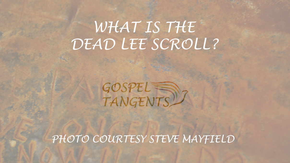 Does the Dead Lee Scroll implicate Brigham Young in the Mountain Meadows Massacre?