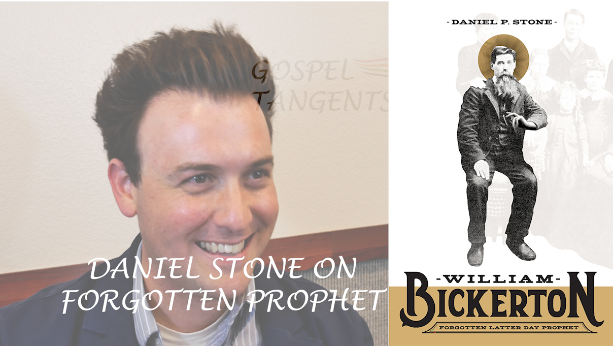 "Dr. Daniel Stone is the biographer of ""William Bickerton - Forgotten Latter Day Prophet"""