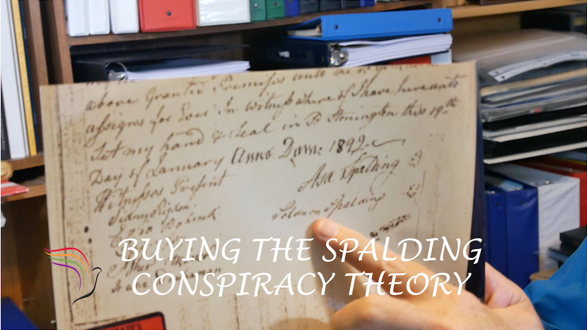 Mark Hofmann forged a document that attempted to tie Sidney Rigdon & Solomon Spalding together.  Steve discusses why it is a forgery.