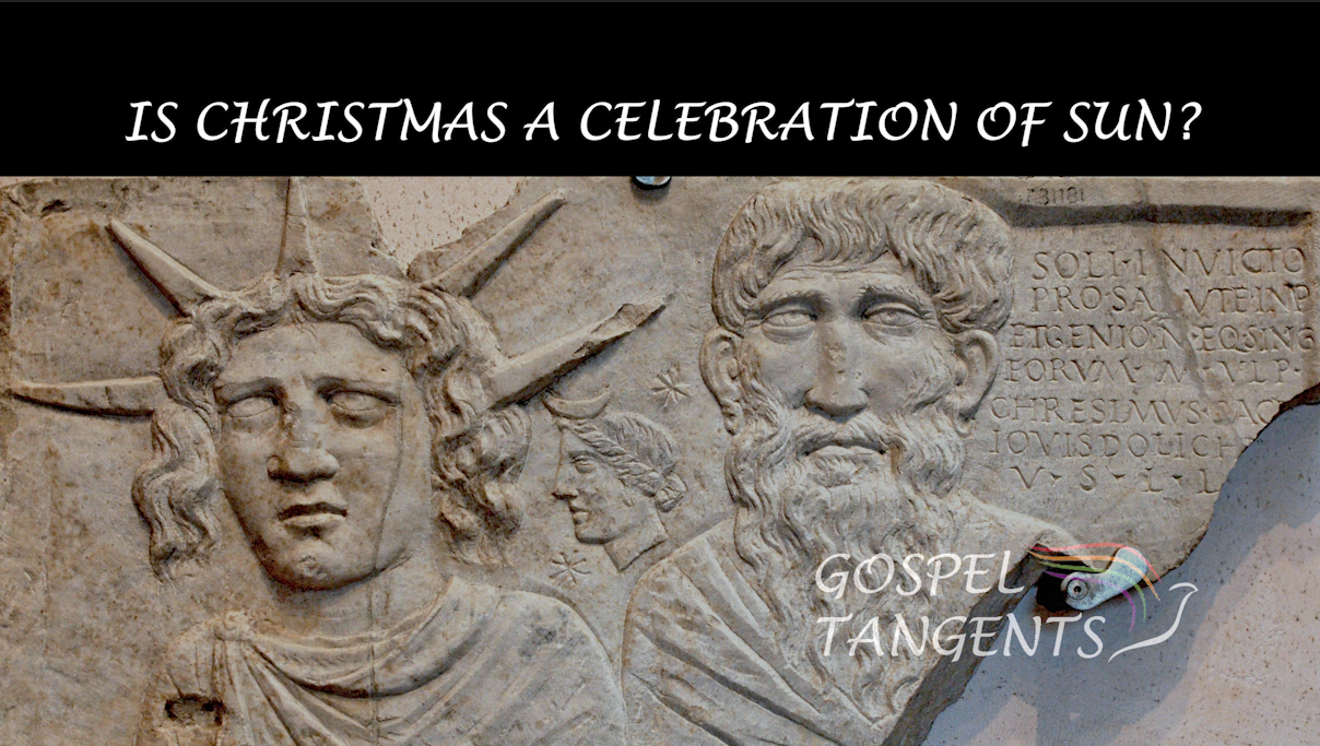Did early Christians appropriate a pagan holiday for Christmas? Do Catholics really believe Jesus was born in December?