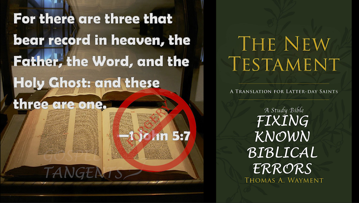 Dr. Thomas Wayment of BYU has a modern translation of the New Testament that updates and fixes known errors.